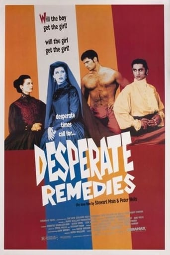 Poster of Desperate Remedies