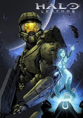 Poster of Halo Legends