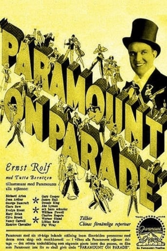Poster of Paramount on Parade