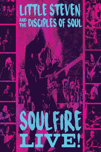 Poster of Little Steven and the Disciples of Soul: Soulfire Live!