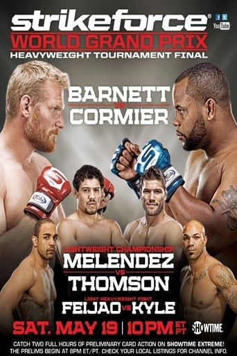 Poster of Strikeforce Heavyweight Grand Prix Finals: Barnett vs. Cormier