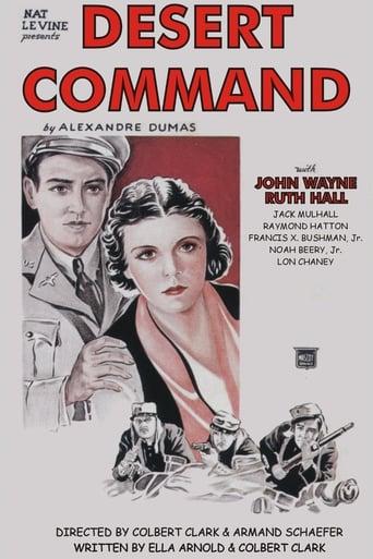 Poster of Desert Command