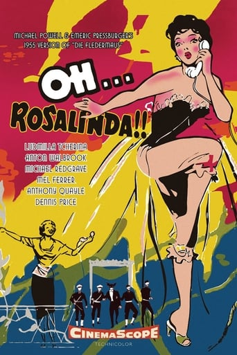 Poster of Oh... Rosalinda!!