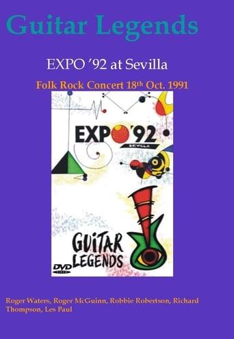 Poster of Guitar Legends EXPO '92 at Sevilla - The Folk Rock Night