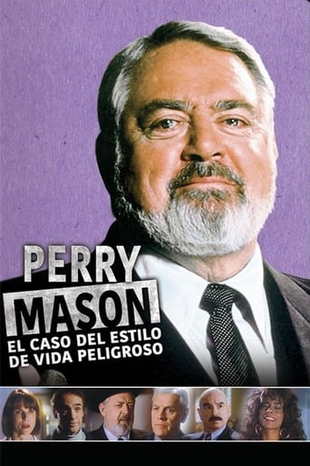 Poster of A Perry Mason Mystery: The Case of the Lethal Lifestyle