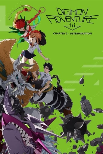 Poster of Digimon Adventure tri. Part 2: Determination