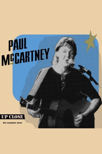 Poster of Paul McCartney: The Complete Up Close Rehearsal