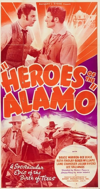 Poster of Heroes of the Alamo