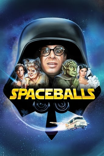 Official movie poster for Spaceballs (1987)