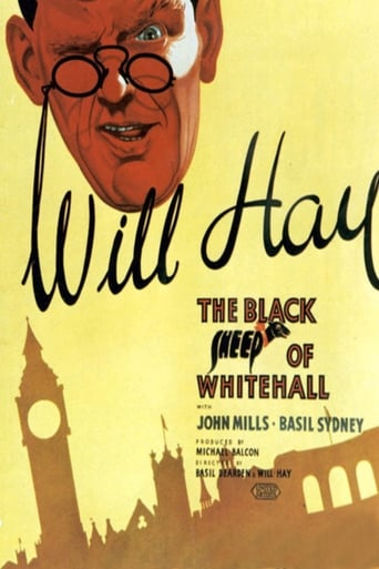 Poster of The Black Sheep of Whitehall