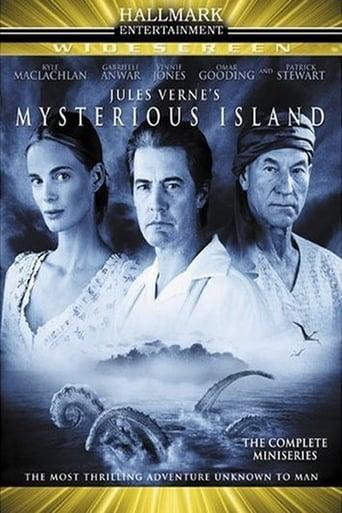 A Ilha Misteriosa - Poster