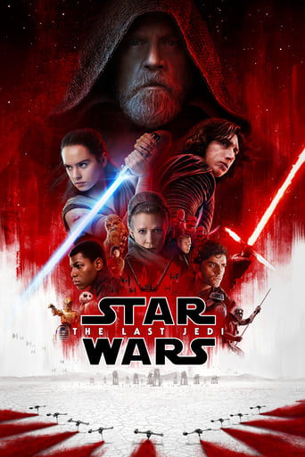 Official movie poster for Star Wars: The Last Jedi (2017)