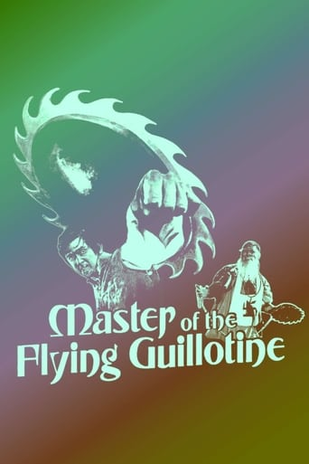 Master of the Flying Guillotine poster