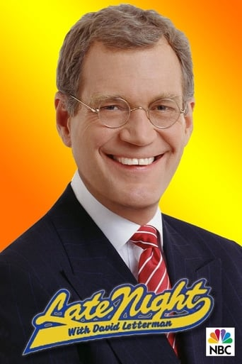 poster of Late Night with David Letterman