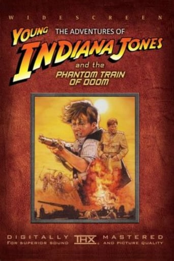 Poster of The Adventures of Young Indiana Jones: The Phantom Train of Doom