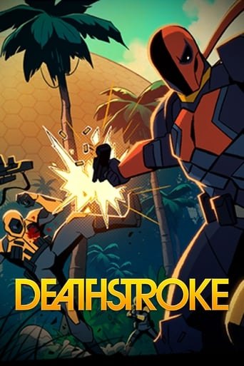 Poster of Deathstroke: Knights & Dragons