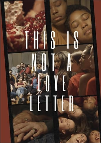 Poster of This Is Not A Love Letter