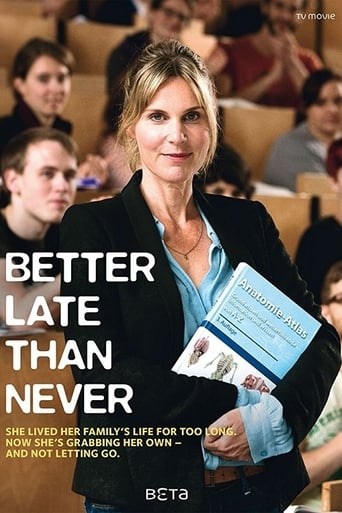 Poster of Better Late Than Never