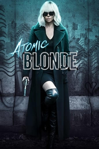 Official movie poster for Atomic Blonde (2017)