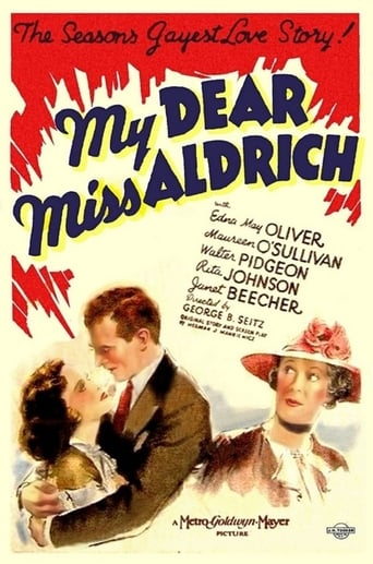 Poster of My Dear Miss Aldrich