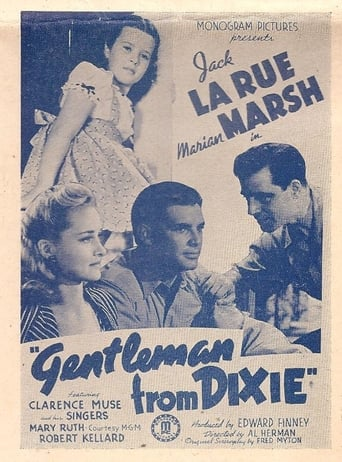 Poster of Gentleman from Dixie
