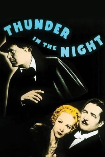 Poster of Thunder in the Night