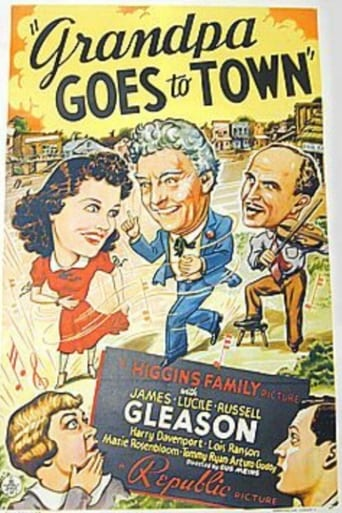 Poster of Grandpa Goes To Town