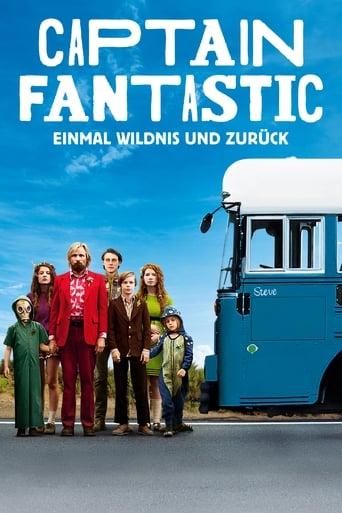 Filmplakat von Captain Fantastic - Einmal Wildnis und zurück
