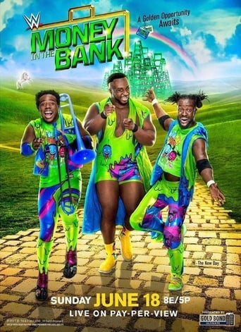 Poster of WWE Money in the Bank 2017