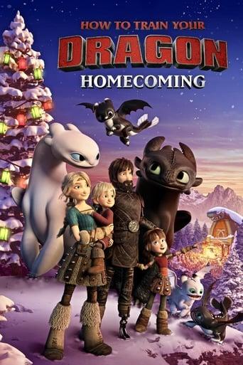 portada How to Train Your Dragon: Homecoming