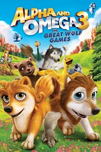 Poster of Alpha and Omega 3: The Great Wolf Games