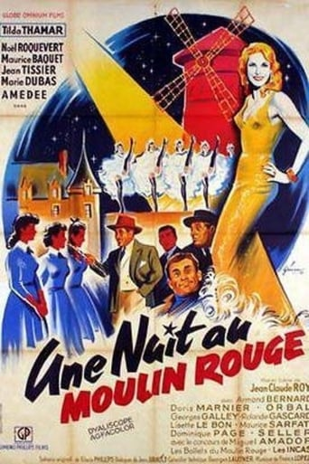 Poster of A Night at the Moulin Rouge