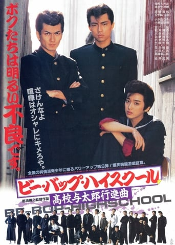 Poster of Be-Bop High School: A Delinquent Student March