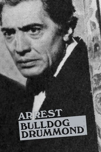 Poster of Arrest Bulldog Drummond