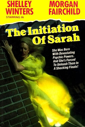 Watch The Initiation of Sarah Online Free Putlocker