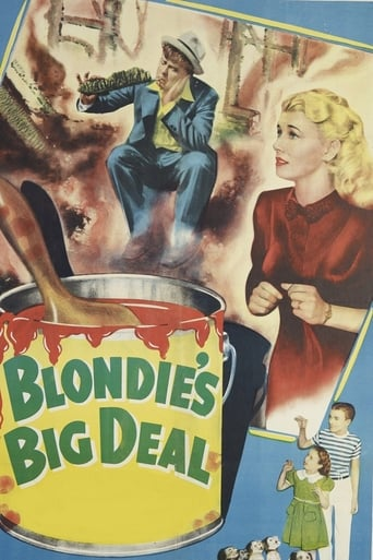 Blondie's Big Deal Movie Poster
