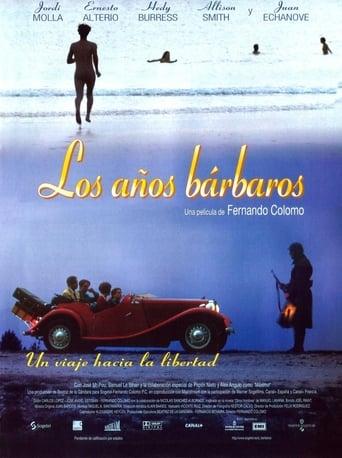 Poster of Los años bárbaros
