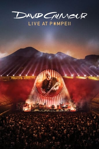 David Gilmour:  Live at Pompeii Movie Poster