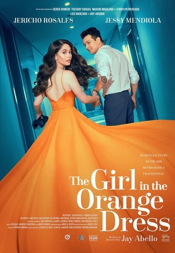 Poster of The Girl in the Orange Dress