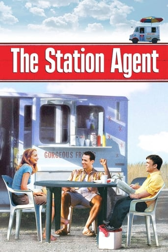 Official movie poster for The Station Agent (2003)