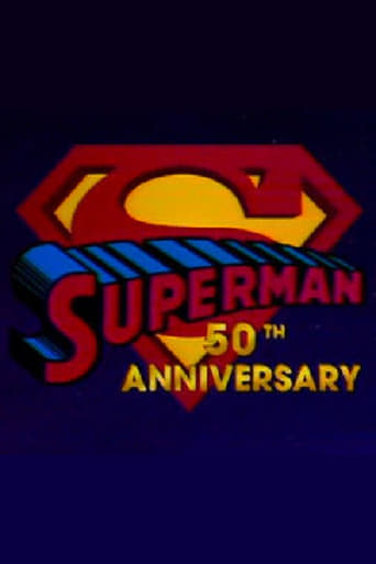 Poster of Superman's 50th Anniversary: A Celebration of the Man of Steel