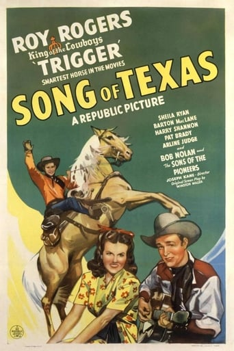 poster of Song of Texas