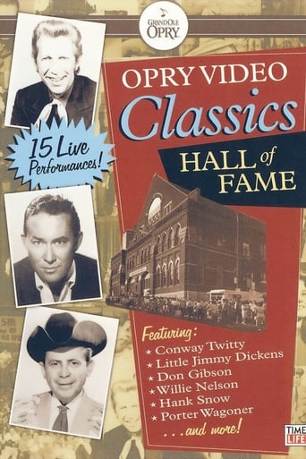 Poster of Opry Video Classics: Hall of Fame