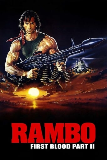 Poster Rambo: First Blood Part II