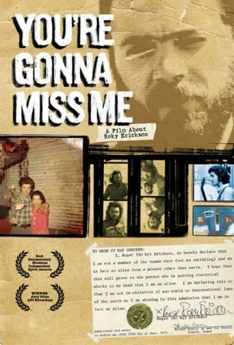 Watch You're Gonna Miss Me: A Film About Roky Erickson Online Free Putlocker