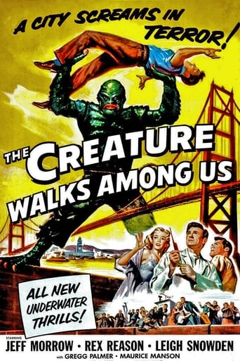 Poster of The Creature Walks Among Us