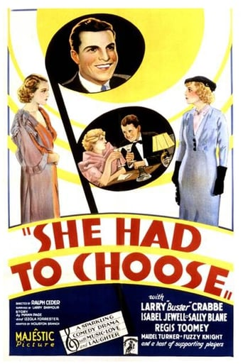 Poster of She Had to Choose