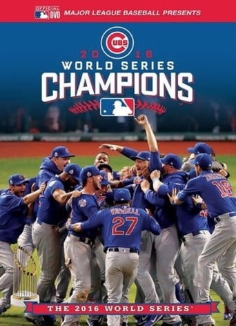 Poster of 2016 World Series Champions: The Chicago Cubs