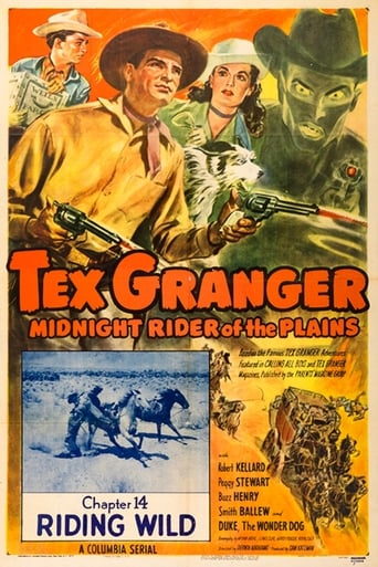 Poster of Tex Granger: Midnight Rider of the Plains