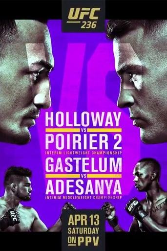 Poster of UFC 236: Holloway vs. Poirier 2